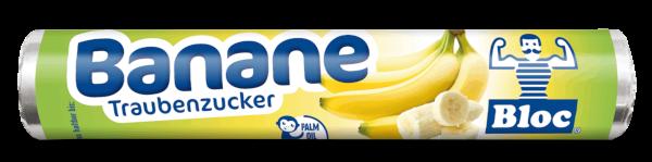 Bloc Traubenzucker Banane Rolle