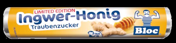 Bloc Traubenzucker Ingwer-Honig Rolle Packshot